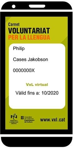 Carnet VxL per al mòbil