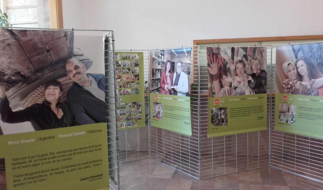 Resultat d'imatges de Expo A dues veus